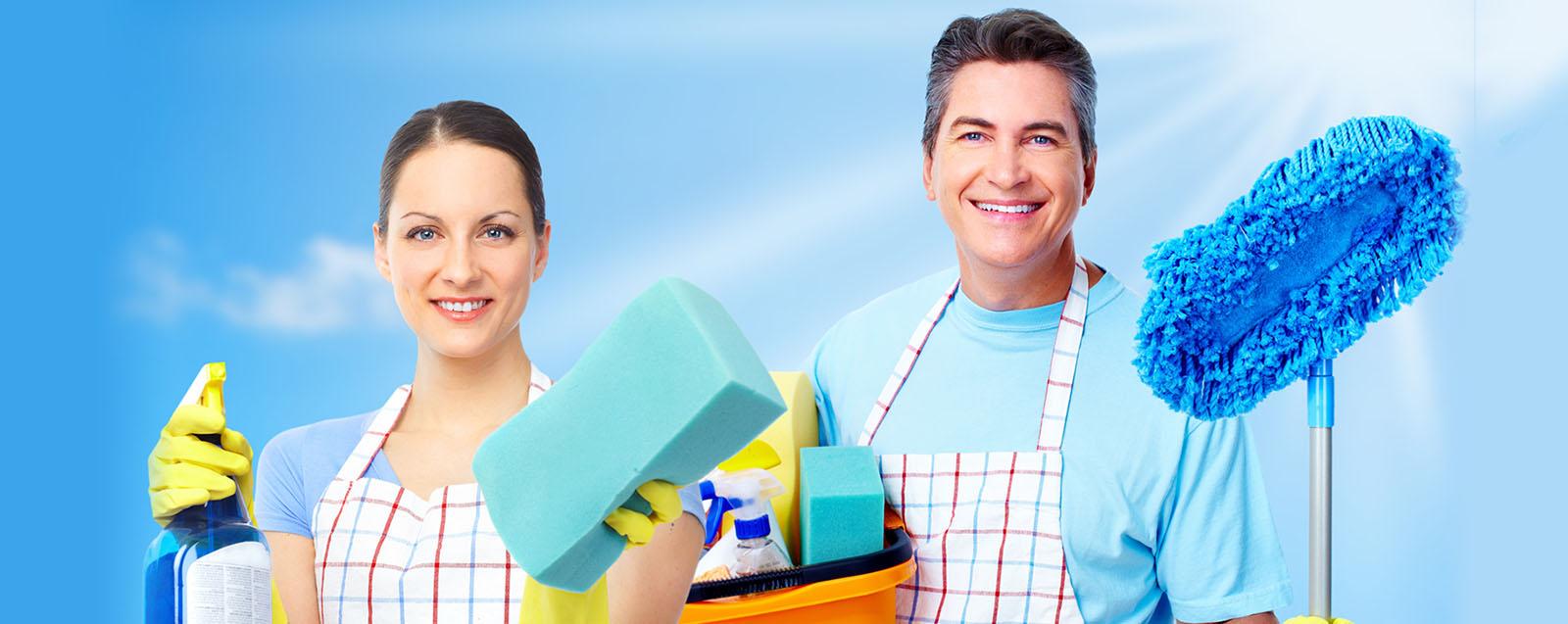 Đội ngũ tạp vụ vệ sinh nhà xưởng