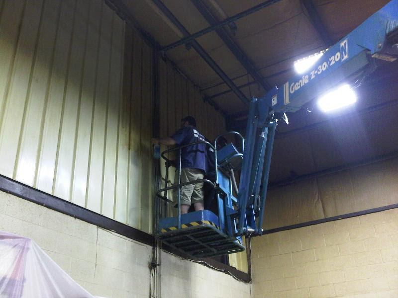 sơn sửa tẩy ố thiết bị nhà xưởng