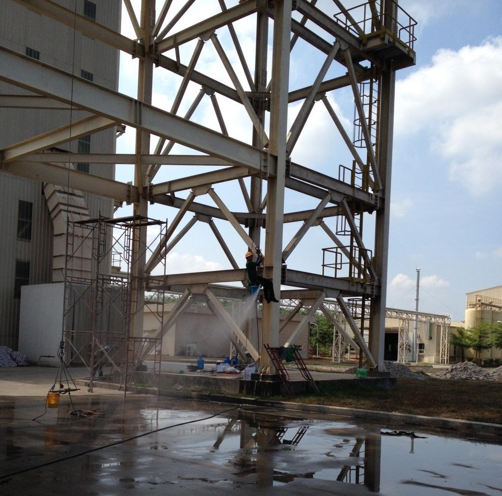vệ sinh nhà xưởng tại Bình Phước