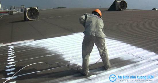 Dịch vụ sơn chống nóng nhà xưởng giá rẻ