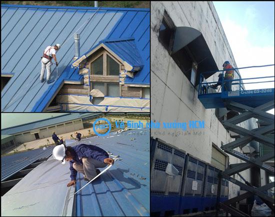 Sửa nhà kho nhà xưởng giá rẻ tại bình dương